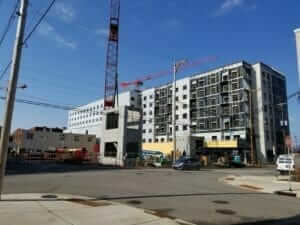 Embassy Suites under contruction
