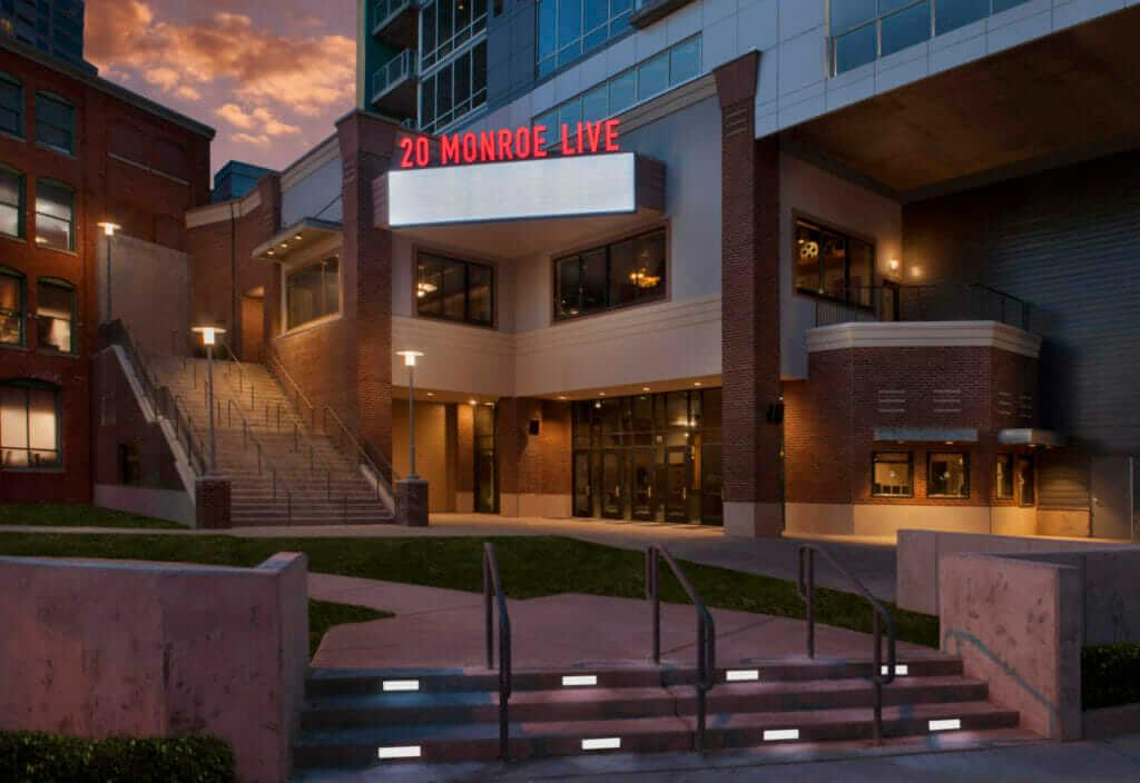 20 Monroe Live exterior