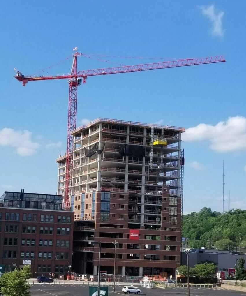 601 Bond Apartments under construction