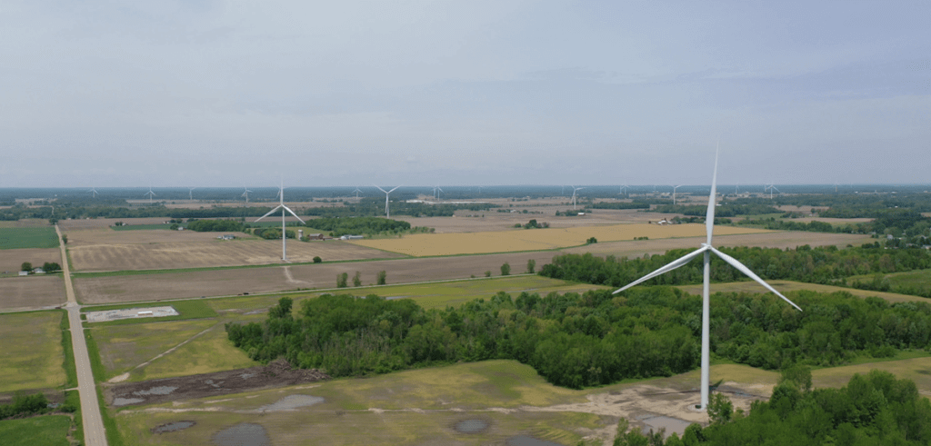 Pine River Wind Farm, an MTC materials testing project