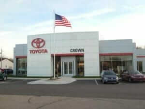 Crown Toyota Holland Exterior