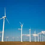 wind turbines on the West Texas plains